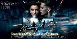 Midnight Kiss Boston New Year's Eve 2021
